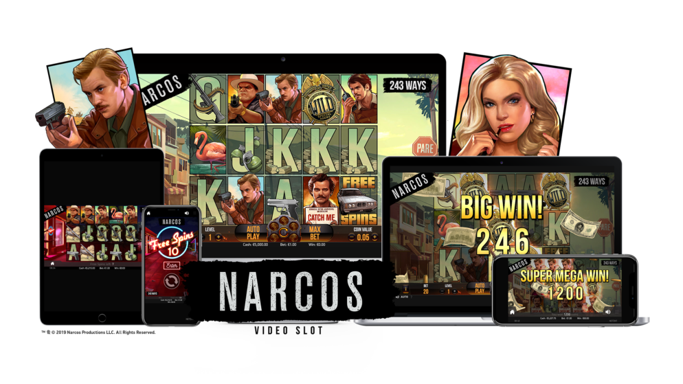 Netent Release Narcos Themed Slot Machine