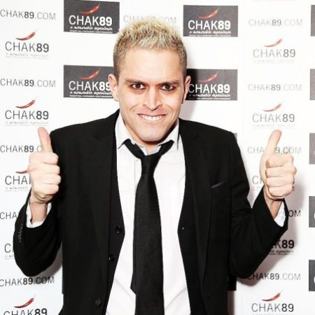 Big Brother Winner Pete Bennett in Celebrity Bingo in Brighton