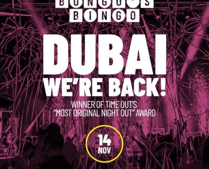 Bongo's Bingo Returns to Dubai