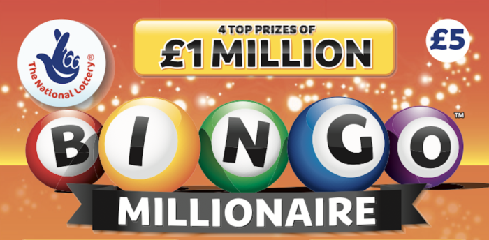 New Bingo-Themed Scratchcard With £1 Million Jackpot