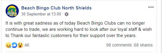 beach bingo facebook