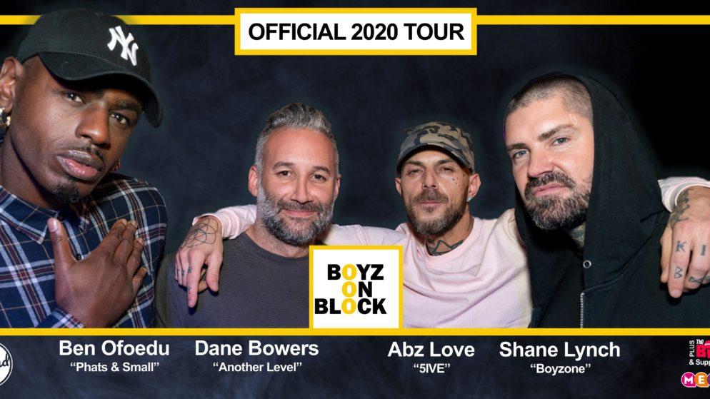 Boy Band 'Supergroup' Boyz on Block to Play Mecca Bingo York