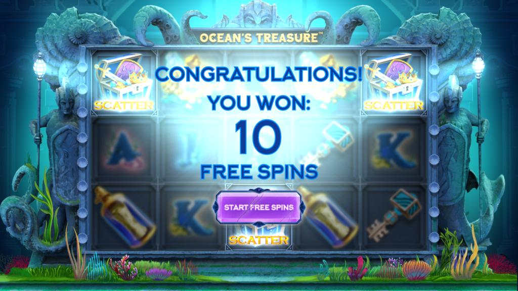 Ocean's Treasure bonus round