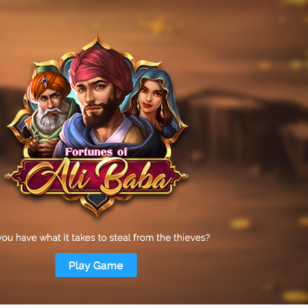 Play'n Go Latest Slot: Fortunes of Ali Baba