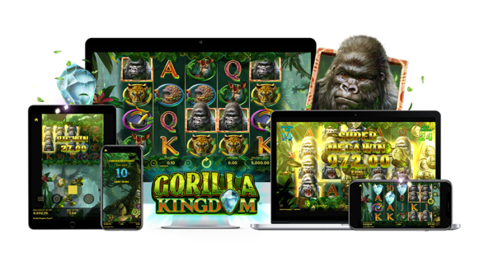 Gorilla Kingdom Slot by NetEnt