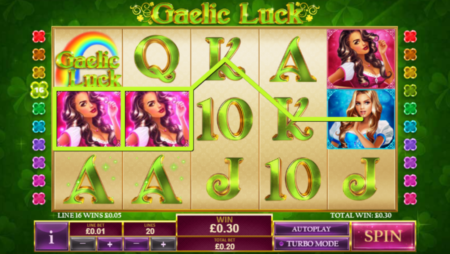 Gaelic Luck Slot by Playtech (New Release)