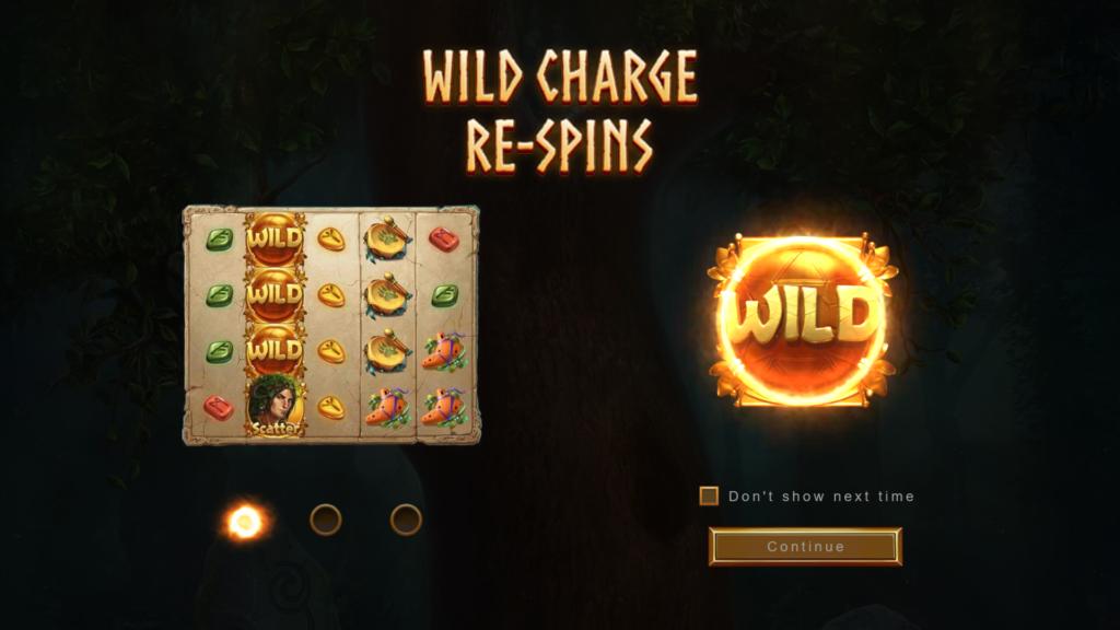 Druids' Dream wild charge