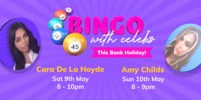 Amy Childs and Cara De La Hoyde to Host MrQ Bingo Sessions