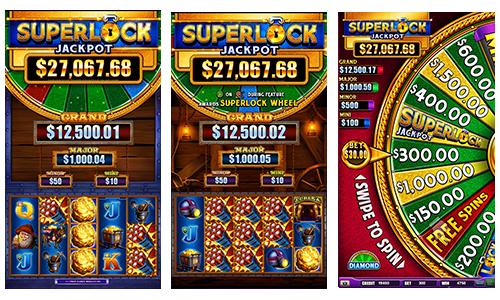Superlock Jackpot Eureka Reel Blast