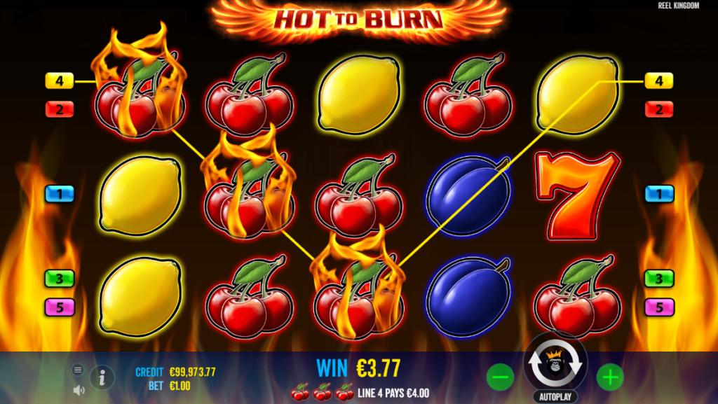 Hot to Burn online slot machine