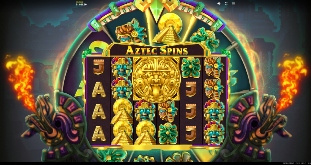 Aztec Wheel by Red Tiger