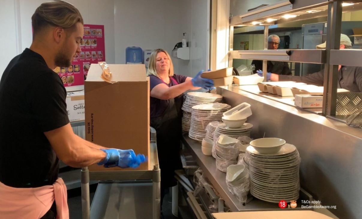 Mecca Bingo and Love Island's Chris Hughes Team Up to Feed Those in Need