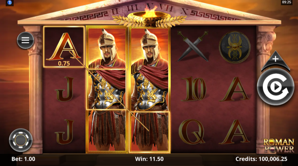 Roman Power by Microgaming