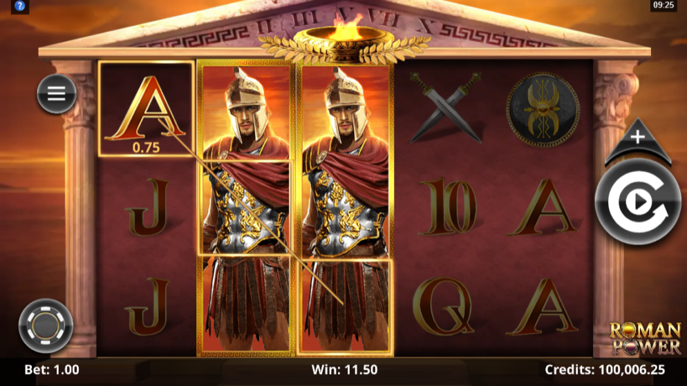 Roman Power by Microgaming (New Slot)