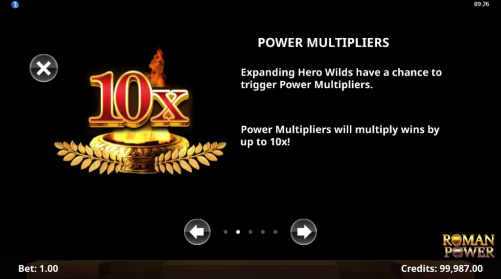 roman power power multipliers
