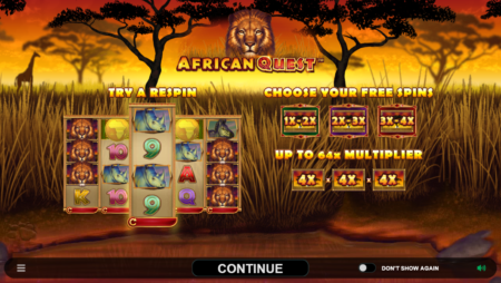 African Quest by Microgaming (New Slot)