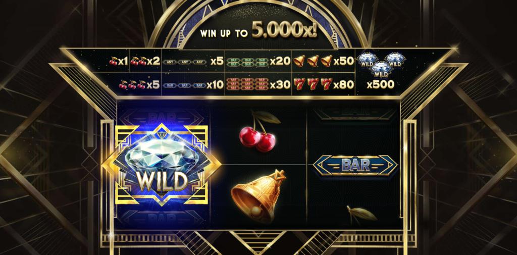 Multiplier Riches Wild symbol