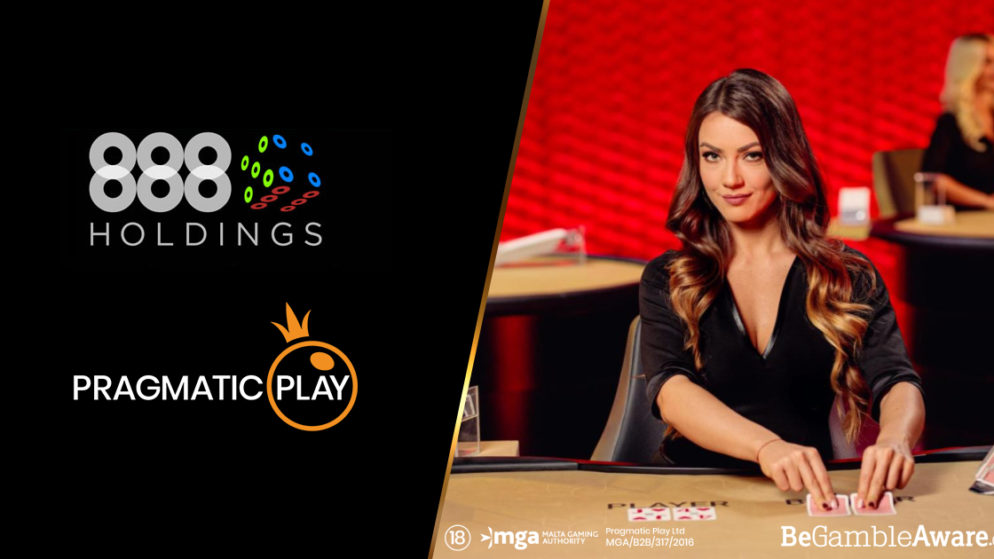 888 Casino to Offer Games by Pragmatic Play