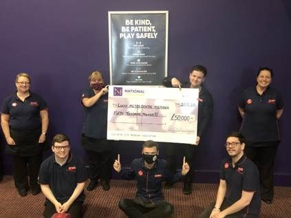 Buzz Bingo Gateshead Jackpot Win