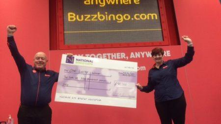 Buzz Bingo Stockport Dabber Celebrates Timely Jackpot Win