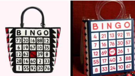 £175 Lulu Guinness 'Bingo Bag' Recreated by Buzz Bingo for £1.75