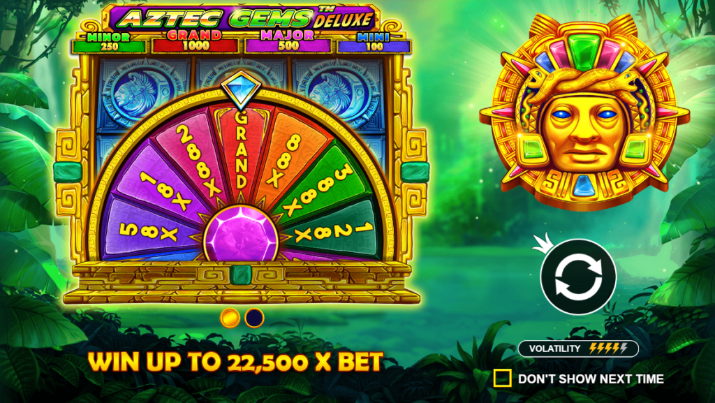 aztec gems video slot respin round