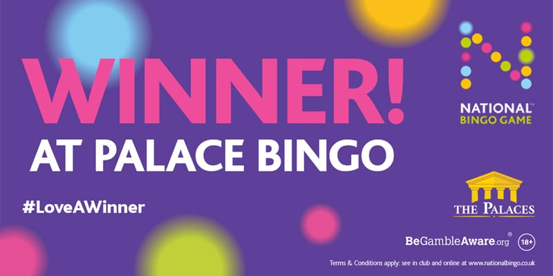 Dabber at Palace Bingo in Great Yarmouth Claims £50,000 Jackpot Win