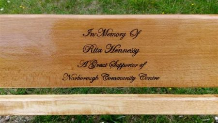Norfolk Bingo Stalwart Remembered with Memorial Bench