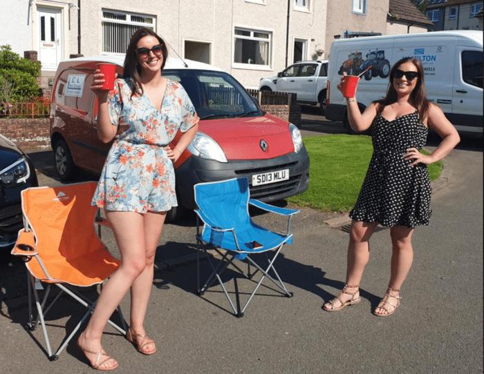Scottish Village Street Bingo Raises Thousands for Charity