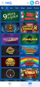 mrq online slot games screenshot