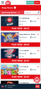 buzz bingo online bingo games screenshot
