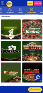 gala bingo casino games screenshot
