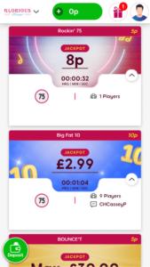 glorious online bingo games screenshot
