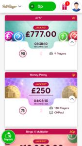 polo bingo exclusive bingo games screenshot