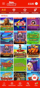 sun bingo slot games screenshot