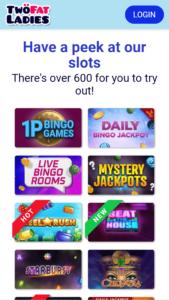 two fat ladies online slots screenshot