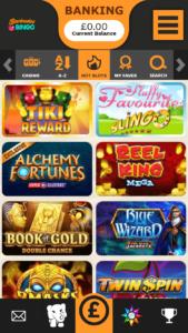 barbados bingo online slot games screenshot