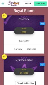 chit chat bingo online bingo screenshot