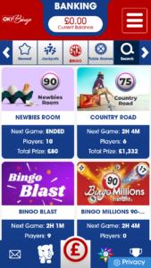 ok! bingo online bingo games