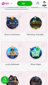 spectra bingo video slots screenshot