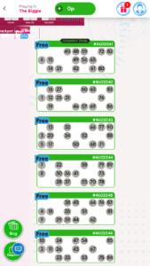 ted bingo free bingo games screenshot