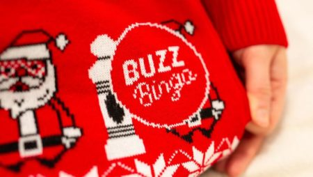 Buzz Bingo Launches Charity Christmas Jumper