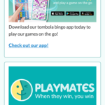 tombola bingo promotions screenshot