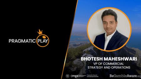 Pragmatic Play Announce Bhotesh Maheshwari as VP of Strategy and Operations
