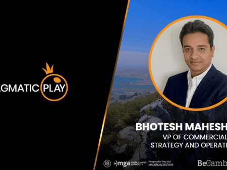 Pragmatic Play Announce Bhotesh Maheshwari as VP of Strategy and Operations
