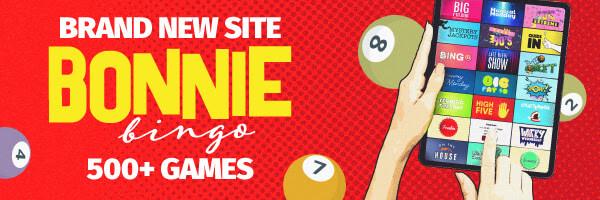 New Online Bingo Site: Bonnie Bingo