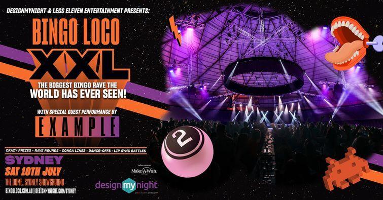 Sydney to Host Bingo Loco's 'World's Biggest Bingo Rave'