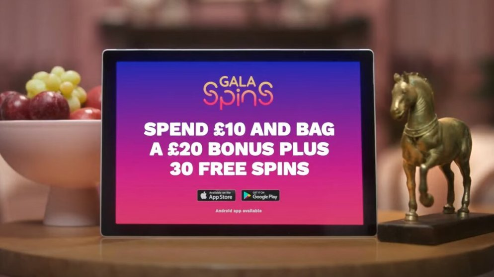 Gala Spins Launches New Range of TV Adverts