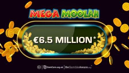 Lucky Winner Snaps Up £5.8 Million Mega Moolah Jackpot