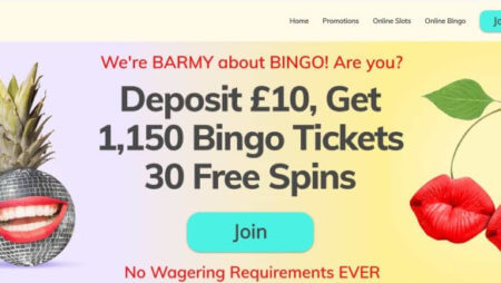 New Sign-Up Bonus with Bingo Barmy: Now with 30 Free Spins